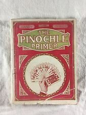 The Pinochle Primer Handy Series 1912 Lewis Levy Cards Game