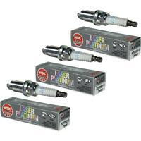 3X NGK Laser Platinum Premium Zündkerze 7968 Typ PZFR5D-11 Zünd Kerze