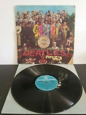 RARE 1967 ORG BLUE NEW ZEALAND BEATLES, SGT PEPPERS LONELY HEARTS CLUB BAND BLUE