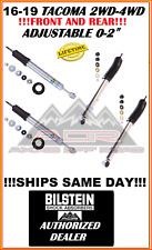 BILSTEIN ADJUSTABLE FRONT/REAR 5100 SHOCKS FOR 16-19 TOYOTA TACOMA 2WD 4WD 4x4