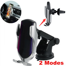 Automatic Qi Wireless Car Charger 10W Fast Charging Mount Clamping Phone Holder