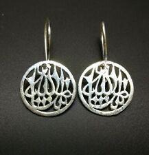 Mashallah Earring, Islamic Jewellery, 925 Sterling Silver muslim Islam Muslimah
