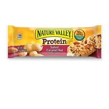 Nature Valley Chewy Granola Bar Protein Salted Caramel Nut 10 Ct DATE: JAN 2020