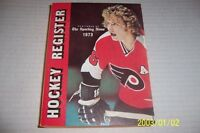 1973 NHL HOCKEY Register PHILADELPHIA FLYERS Bobby CLARKE Buffalo GIL PERREAULT