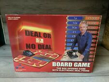 DEAL OR NO DEAL BOARD GAME WITH ELECTRONIC DEAL PHONE (2003-2006) DRUMOND PARK