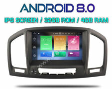 "AUTORADIO 8"" IPS ANDROID 8.0 OctaCore 4GB-32GB OPEL INSIGNIA 2008-2011 OBD DVR -"