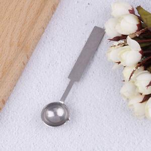 Large silver stamp spoon vintage wax sealing spoon melting sealing wax stiCACA