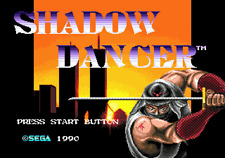 Shadow Dancer The Secret Of Shinobi - Sega Genesis Game