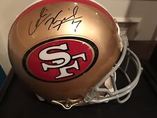 Colin Kaepernick Signed San Francisco 49ers Authentic Pro Riddell Helmet