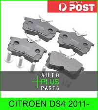 Fits CITROEN DS4 2011- - Brake Pads Disc Brake (Rear)