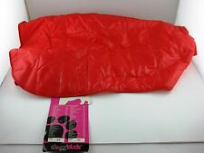"""Doggiduds Quilted Dog Parka Red White Inside NOS Sz 26"""" New With Tag"""