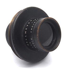 """Vintage Dallmeyer 2 1/2"""" Inch F3.2 Gauge 501296 Projection Lens  - UK Dealer"""
