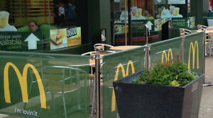 PRINTED CAFE BARRIER RESTAURANT BARRIERS PUB BARRIERS DESIGN AND PRINT+ PRICE
