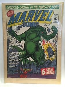 Marvel Comic #345 Marvel UK Comic Magazine