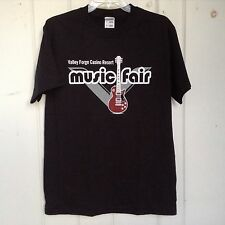 VALLEY FORGE CASINO RESORT MUSIC FAIR TEE SHIRT Sz Mens L Black