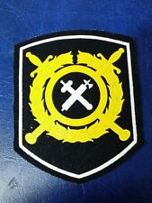 RUSSIAN FEDERAL POLICE SUPPLY SERVICE SHOULDER PATCH
