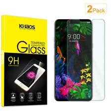 2-Pack Khaos For LG G8 ThinQ Tempered Glass Screen Protector