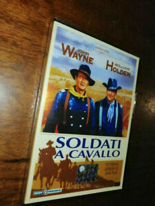 DVD - SOLDATI A CAVALLO - JOHN WAYNE (DVD_1959) LINGUA ITALIANA (NUOVO & SIGILLA