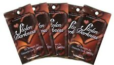5 Stolen Darkness Bronzer Tanning Lotion Packets by Fixation