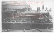 8CC274 RP 1930s/40s TORONTO HAMILTON & BUFFALO RAILROAD 2-6-0 LOCO #24