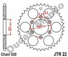 JT 42 tooth steel rear sprocket for Aprilia RX 125 00 JTR22.42 NEW