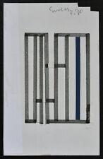 Siep van den Berg # CONSTRUCTIVISTISCHE COMPOSITIES # 1990, signed, mint