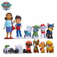 12pcs Set Cartoon Rescue Dog Action Figure Model Toys Anime Child kids Gift