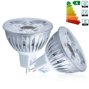 10x MR16 4W=35W DC12V LED Bulbs Spotlight Downlight Warm White Light Bulb A++ uk