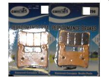 2 x Ft Brake Pads Honda CBR 600 RR3 RR4 03-04