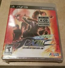 The King of Fighters XIII (Sony PlayStation 3, 2011) Brand New with soundtrack!