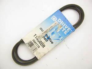 "Drive-rite 11460DR Accessory Drive Belt - 0.33"" X 46"" - 36 Degree"