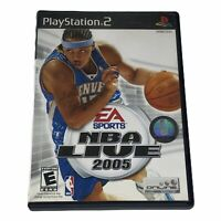 NBA Live 2005 Sony PlayStation 2 PS2 Complete w/Manual CIB Tested Works