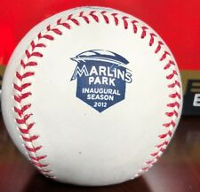 OFFICIAL RAWLINGS 2012 MIAMI MARLINS PARK INAUGURAL SEASON BASEBALL