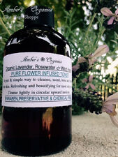 Organic Rosewater & Witch Hazel Firms/Plumps/Tones