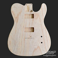 Corps Remplacement Frene / Cabronita Telecaster Guitar Body SWAMP ASH Unfinished