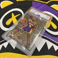 1996 Fleer Metal Kobe Bryant #181 PSA 9 Lakers Rookie RC Card