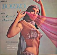 HUGO RIGNOLD/LONDON PHIL. bolero RAVEL the sorcerer's aprentice DUKAS LP VG++