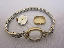 Longine 17jewels 14k Gold Case Watch