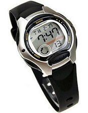 Casio LW200-1A Women's Black Resin Band Alarm Chronograph Digital Sports Watch