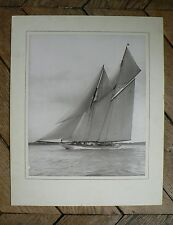 "PHOTO VINTAGE par BEKEN of COWES : LE VOILIER ""WESTWARD"" 01"