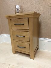 Matching Pair of Toronto Oak Bedside Cabinets / Large Bedroom Side Cabinets x 2