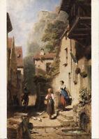 Alte Kunstpostkarte - Carl Spitzweg - Der Husar