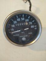 Vintage Motorcycle Speedo  speedometer Japan