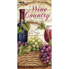 2019 Wine Country Vertical 2019 Wall Calendar, Wine, Beer & Spirits by Lang Comp
