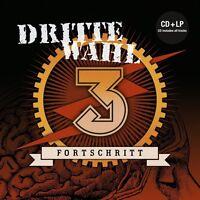DRITTE WAHL - FORTSCHRITT +CD  VINYL LP+CD NEU