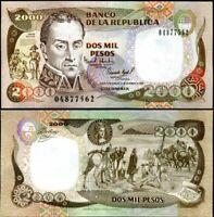 COLOMBIA 1,000 1000 Pesos 1990 P-432 UNC Uncirculated