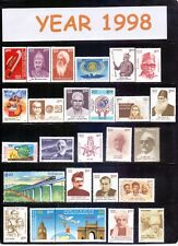 INDIA 1998 YEAR PACK COMPLETE COMMEMORATIVE MNH