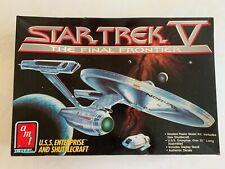 AMT ERTL 6876 Star Trek V The Final Frontier USS Enterprise & navette. Kit rare