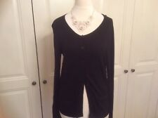 Black cardigan size 8 very good condition by TU