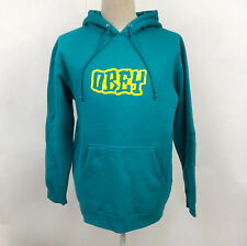 Obey Men's Hoodie Sweatshirt Better Days Outline Teal Size M NEW Shepard Fairey